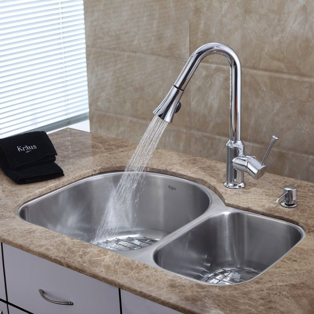 Kohler kitchen sinks with a strong water spray | remodel | Pinterest ...