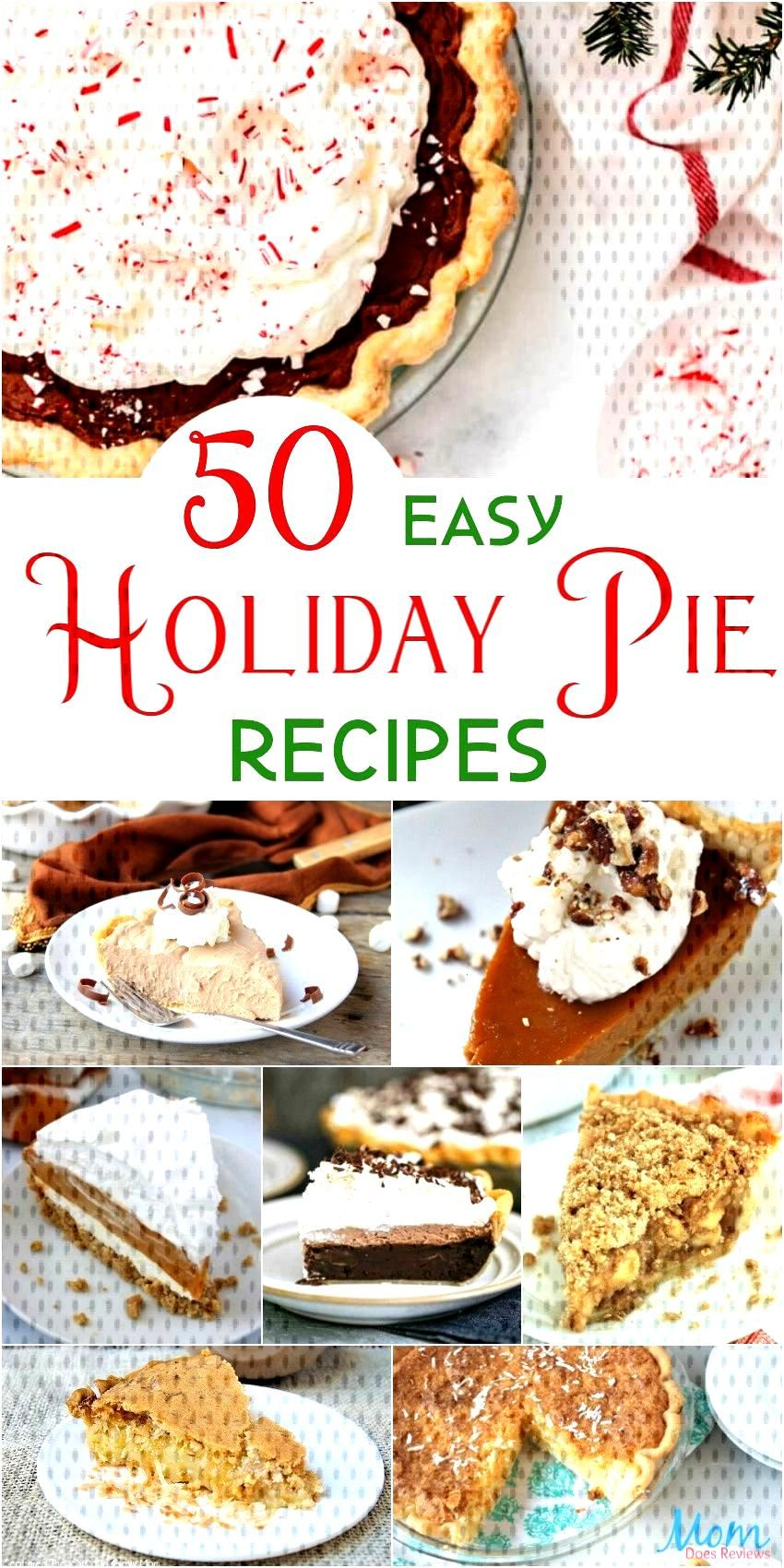50 Easy Holiday Pie Recipes for a Sweet ...