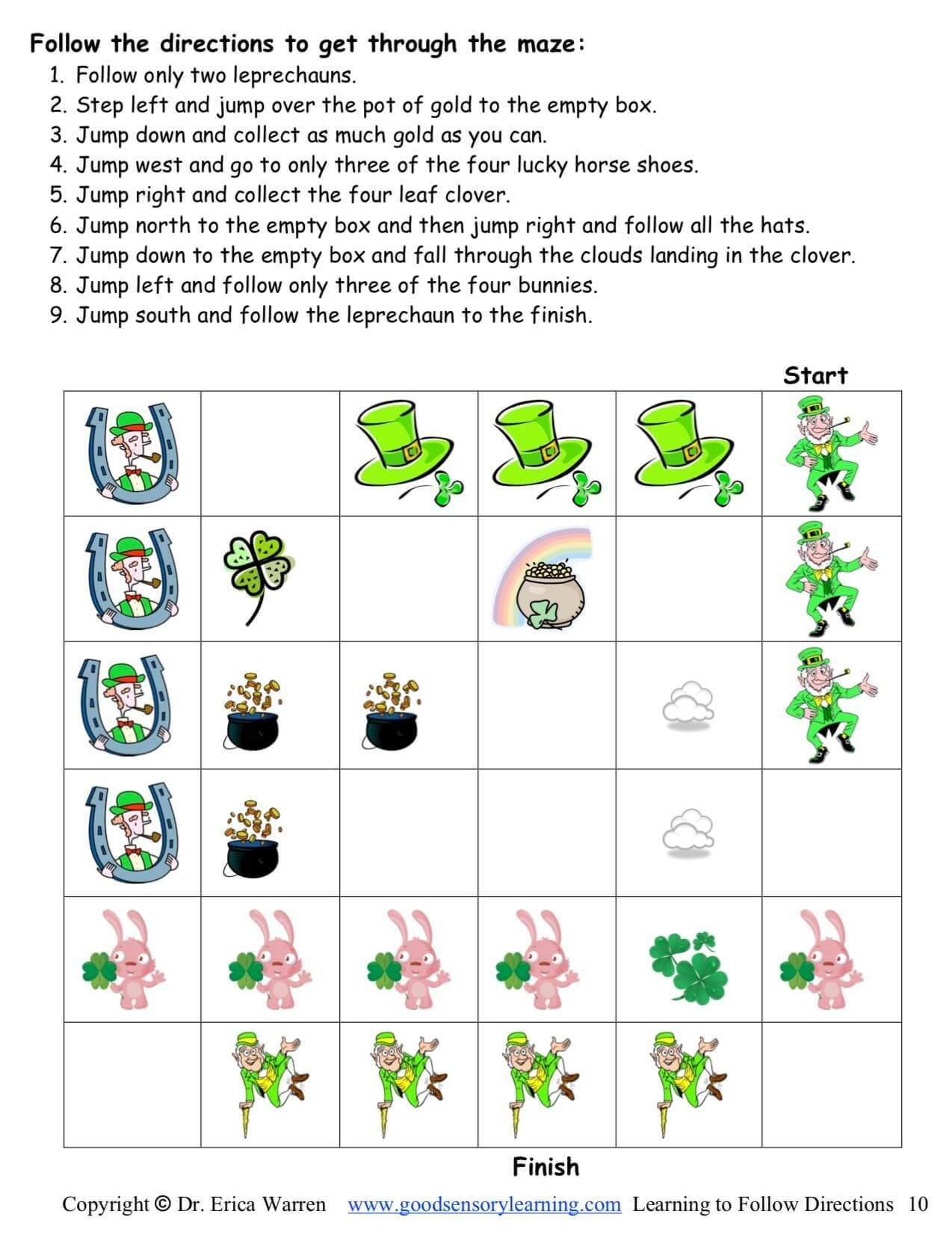 Following Directions St Patricks Day Digital Download