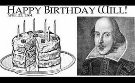 shakespear's birthday - Yahoo Image Search Results