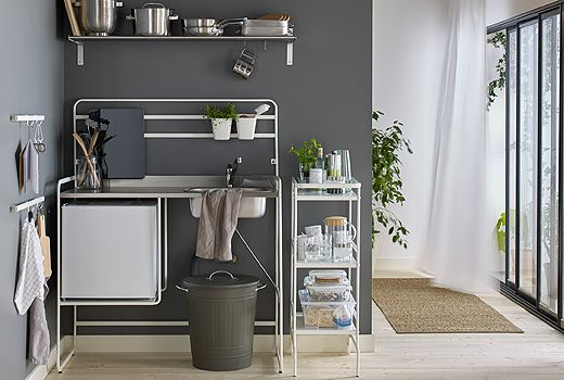 SUNNERSTA Miniküche bietet dir alle Funktionen einer vollständigen - k chenzeile mit elektroger ten ikea
