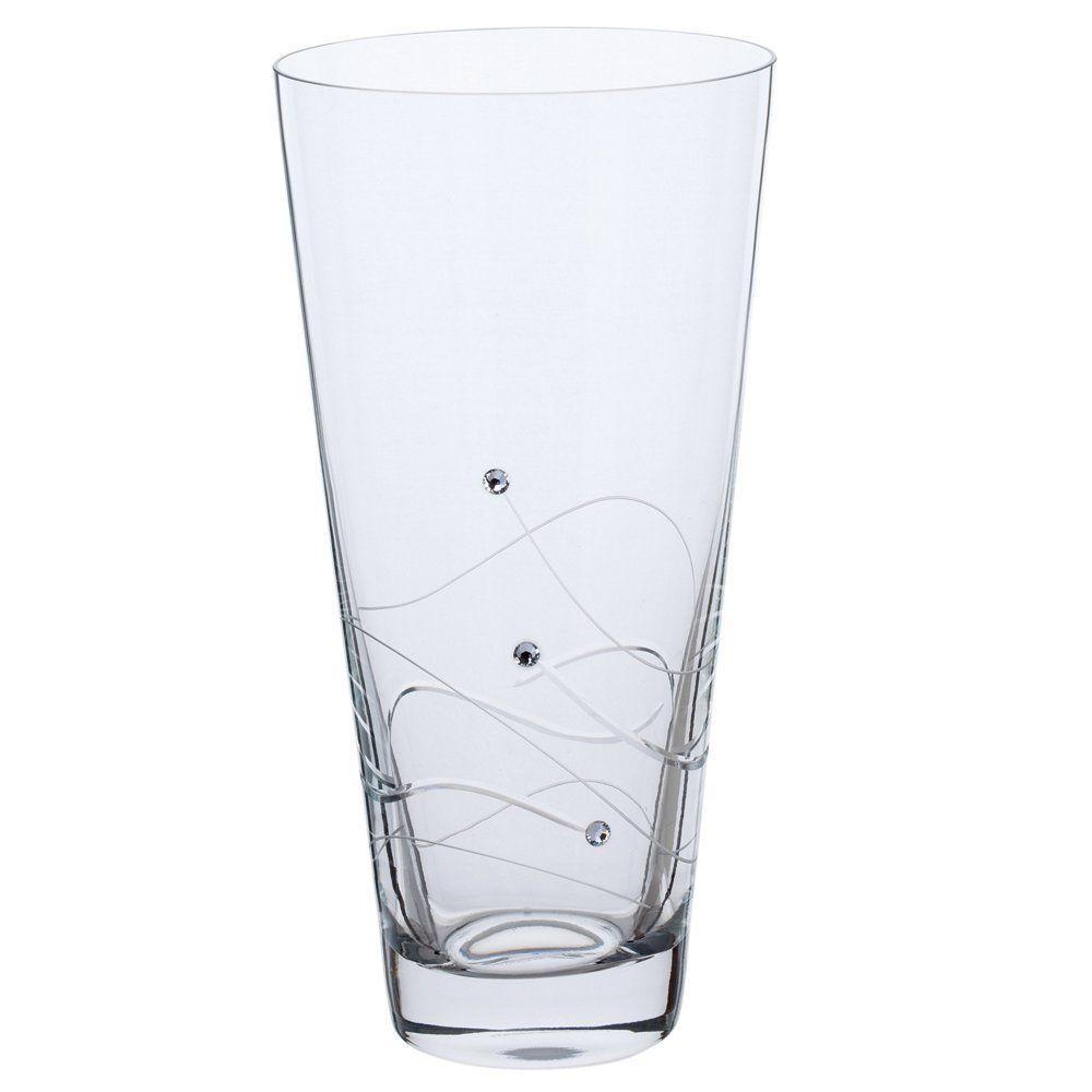 Dartington crystal handmade swarovski glitz small conical vase dartington crystal handmade swarovski glitz small conical vase 25cm read more at the reviewsmspy