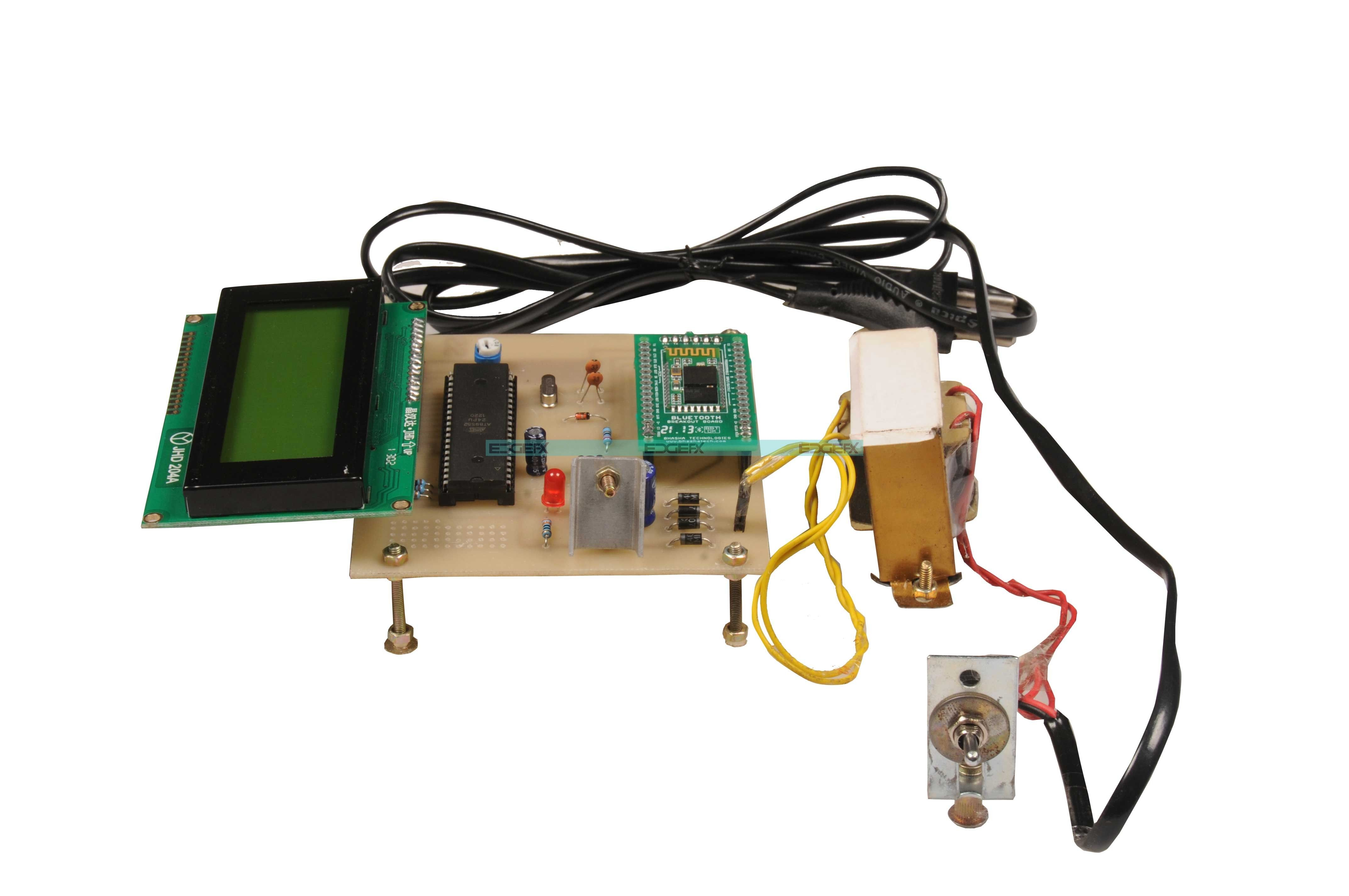 Remotely Controlled Android Based Electronic Notice Board Googl Dtmf Remote Control System Rtpyf5 Ece