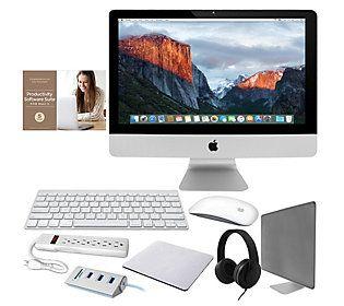 """Apple 27"""" iMac 3.4GHz Core i5 8GB 1TB Fusion w/Accessories"""
