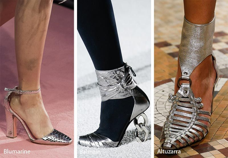 8f22b554163 Fall  Winter 2018-2019 Shoe Trends  Silver Shoes   Boots