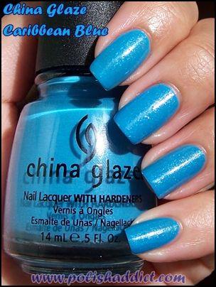 Caribbean Blue Nail Polish China Glaze