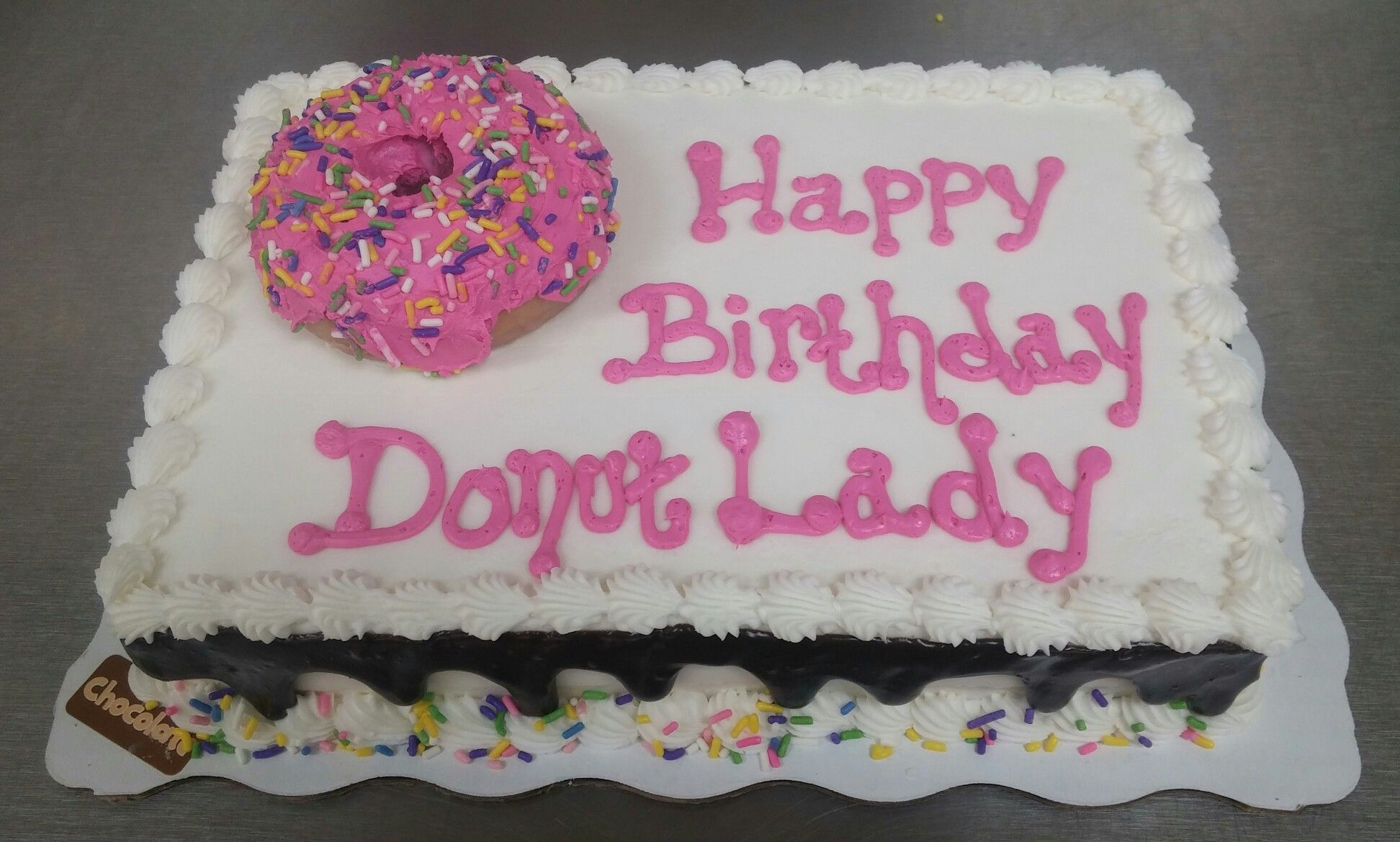 Donut birthday cake donut birthday cake birthday donuts