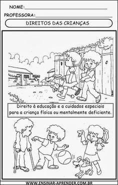 Declaração Universal Dos Direitos Da Criança Ilustrada Para