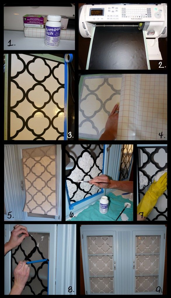 How To Frost Windows Cricut I Used Expressions Adhesive Backed Vinyl Transfer Paper And Armor Etch Glass Etch Diy Glass Glass Etching Diy Glass Etching