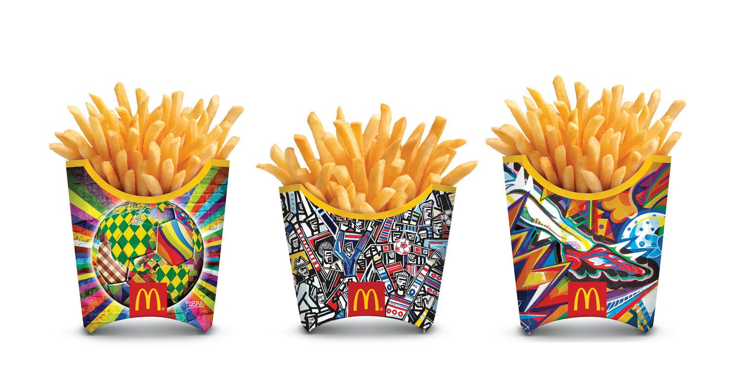 McDonald's Kick-Off FIFA World Cup™ With First-Ever Global French Fry Packaging Redesign