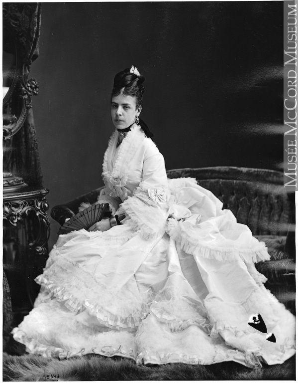 Miss Meredith, Montreal, QC, 1872 William Notman (1826-1891)