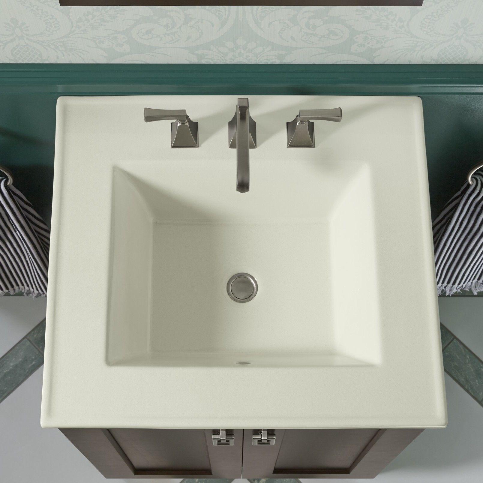 Ceramic Impressions 25 Single Bathroom Vanity Top Drop In