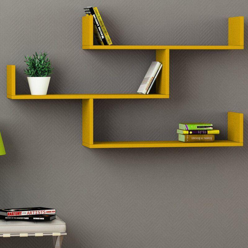 Photo of Mckenny 3 Piece Accent Shelf