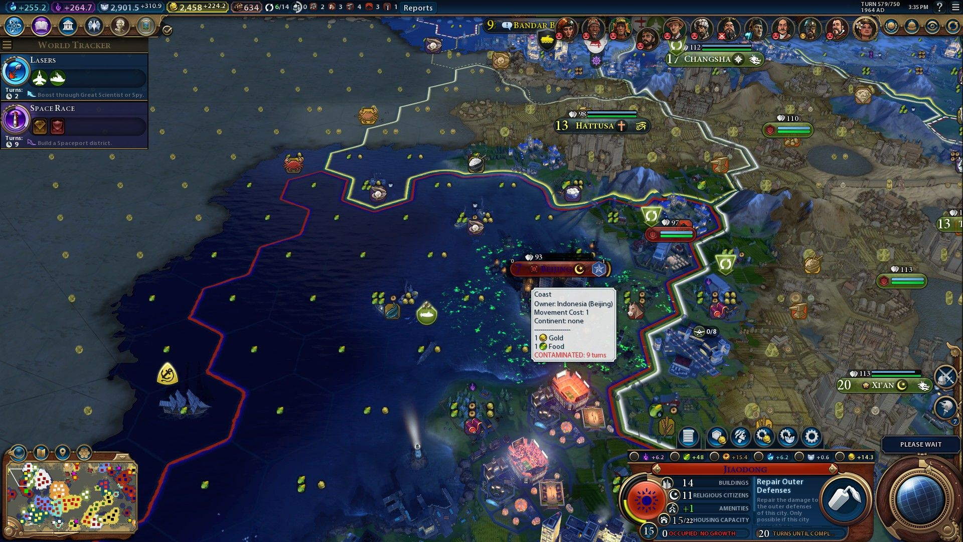 Sun Tzu would approve  #CivilizationBeyondEarth #gaming