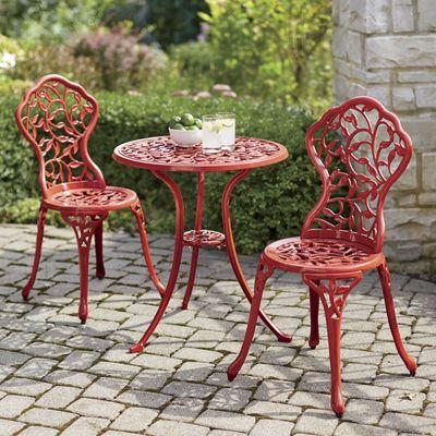 bistro furniture outdoor patio decor