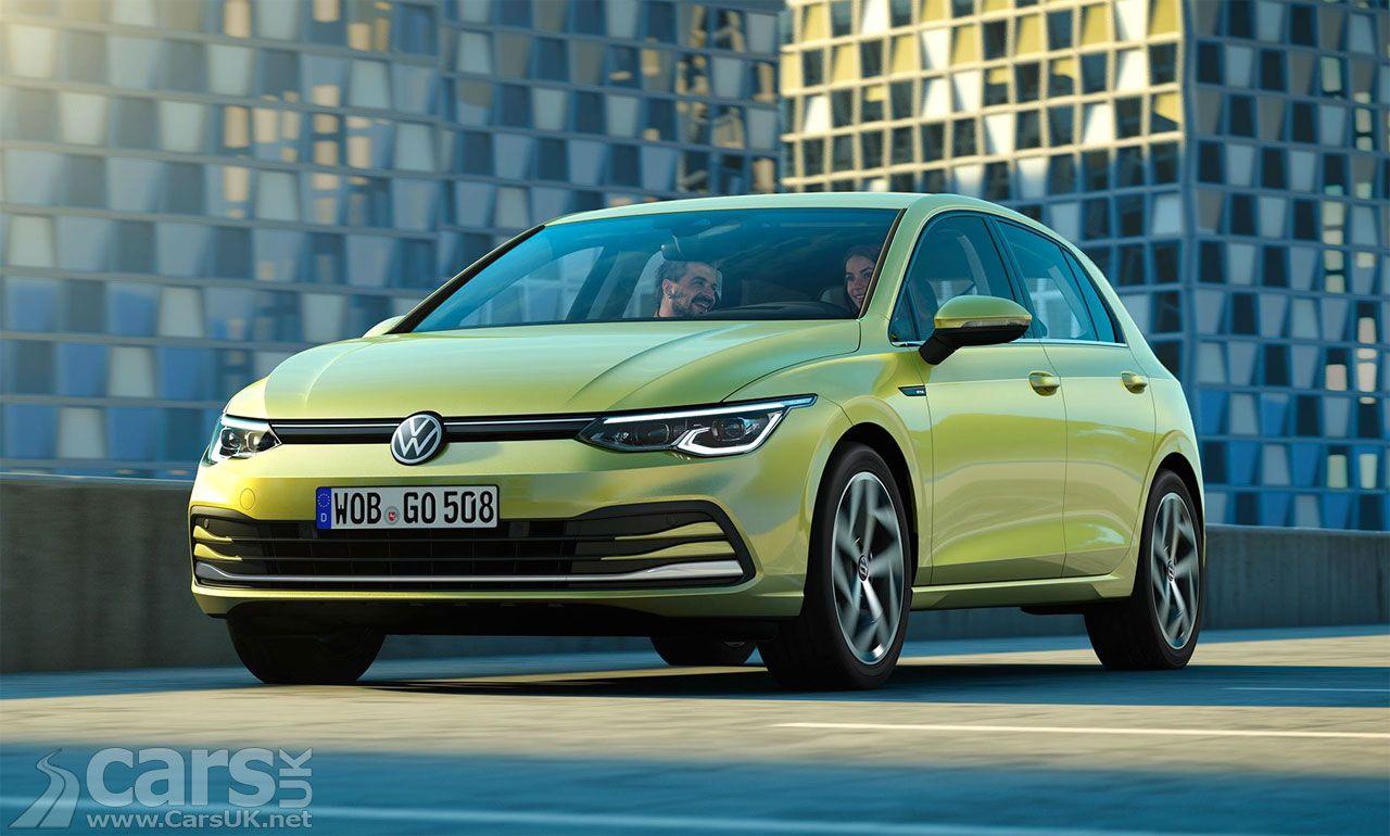 This Is The New Volkswagen Golf Mk8 A Bit Earlier Than Vw Planned Cars Uk Volkswagen Golf Volkswagen Cars Uk