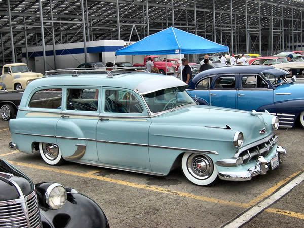 1954 Chevrolet Station Wagon Wolf Whistle The Bomb Vroom