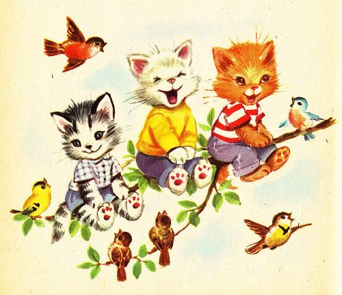 The Seven Wonderful Cats Illustration | ♥ CATS ♥ | Pinterest | Illustrations, Cat and Kitty