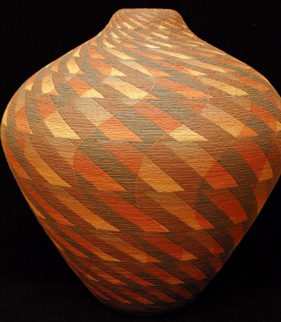 Untitled   		by Richard Zane Smith  		web # 10226  		Pottery  		Natural clay and pigments