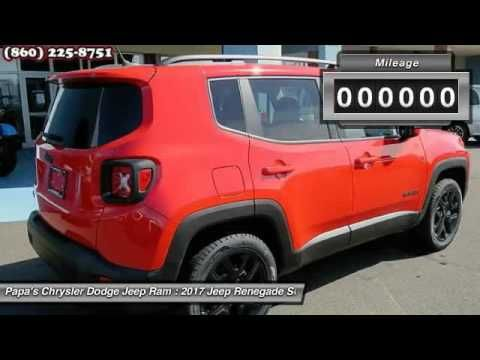 2017 Jeep Renegade New Britain CT 56179