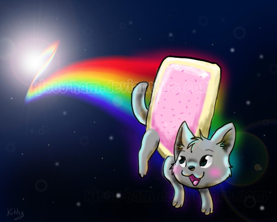 Troll Nyan Cat Meme
