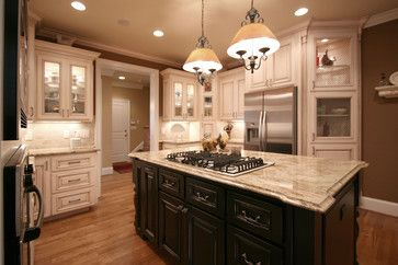French Country - traditional - kitchen - charlotte - Walker Woodworking