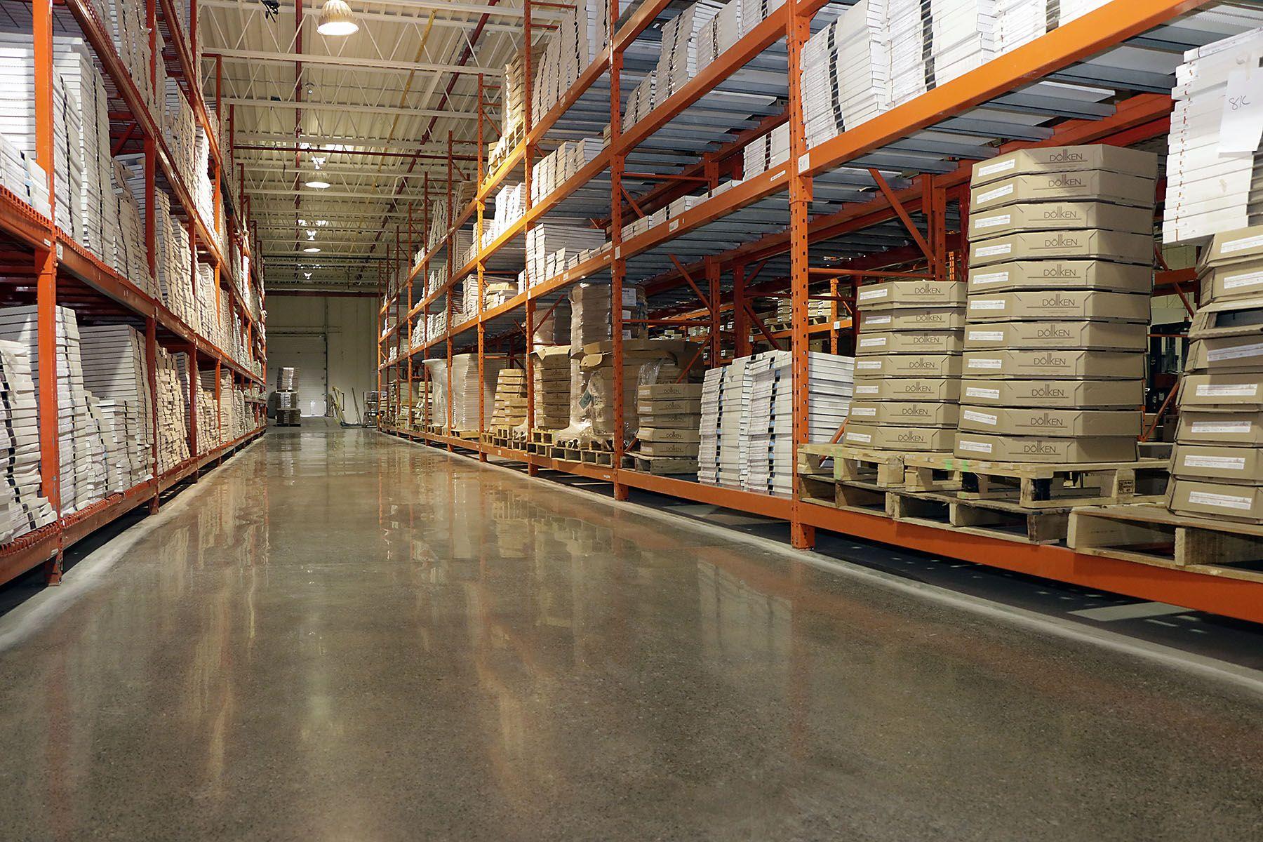 Floor Polishing Of Doelken S Factory Floor Polished Concrete Concrete Polish Floor