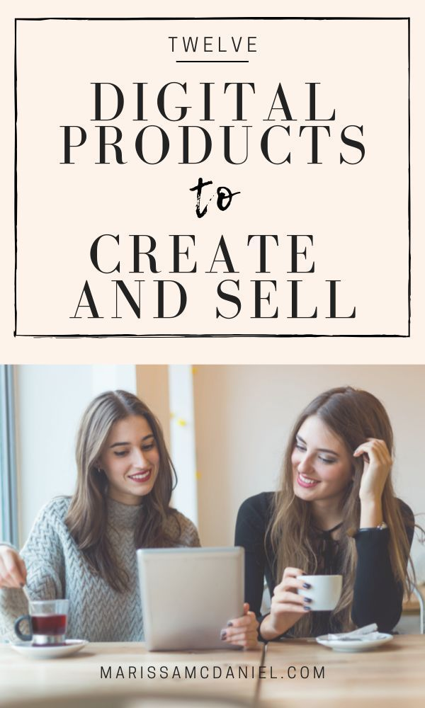12 Digital Products to Create and Sell | While there are many ways to make money blogging, offering digital products on your blog or website can be a great option! Take my FREE quiz to see which digital product types are right for you and then check out these 12 digital products to sell for profit. #digitalproducts #makemoneyblogging#onlineselling #onlinecourses