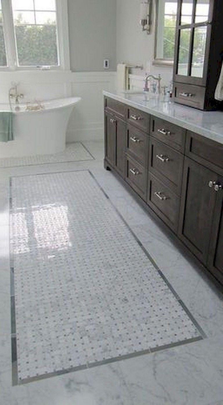21 Optimum Tile Rug Inlay Bathroom Decor Ideas Restroom Remodel Bathroom Interior Design Bathrooms Remodel