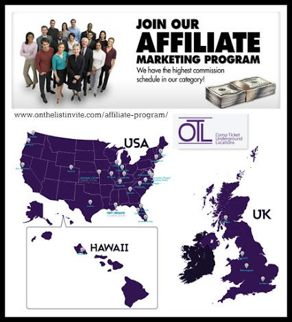 OTL #Austin is now offering affiliate opportunities! View Details: http://onthelistaustin.com/affiliate-program/ #EarnMoney #Commission