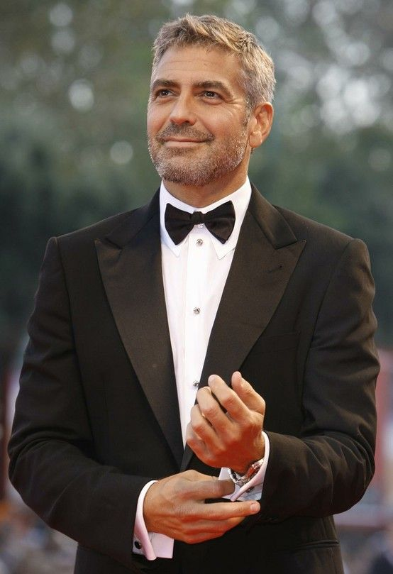 George Clooney. Age aint nothing but a number