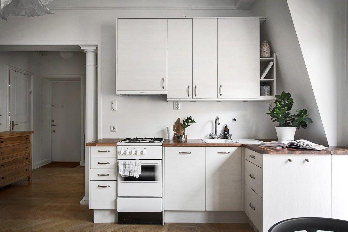Compact corner kitchen for a studio apartment | Kitchen ...