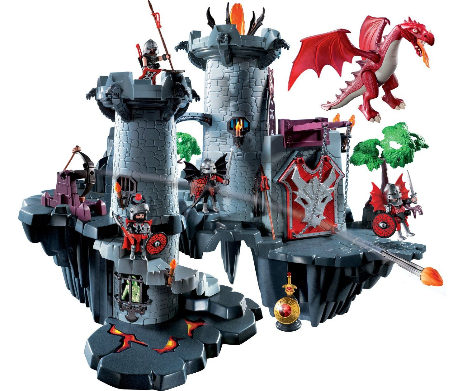 playmobil dragon castle cerca con google castelli co. Black Bedroom Furniture Sets. Home Design Ideas