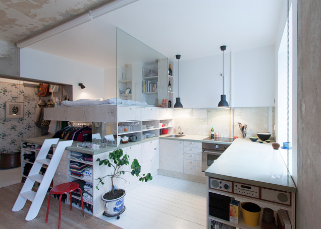 This Tiny Apartment Is Built Inside A 30 Year Old Storage Unit Awesome