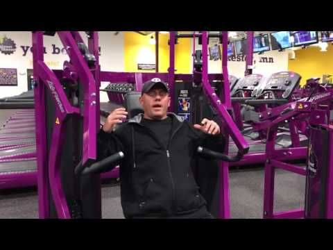 Planet Fitness Chest Press Machine How To Use The Chest Press Machine At Planet Fi Planet Fitness Workout Planet Fitness Machines Planet Fitness Workout Plan