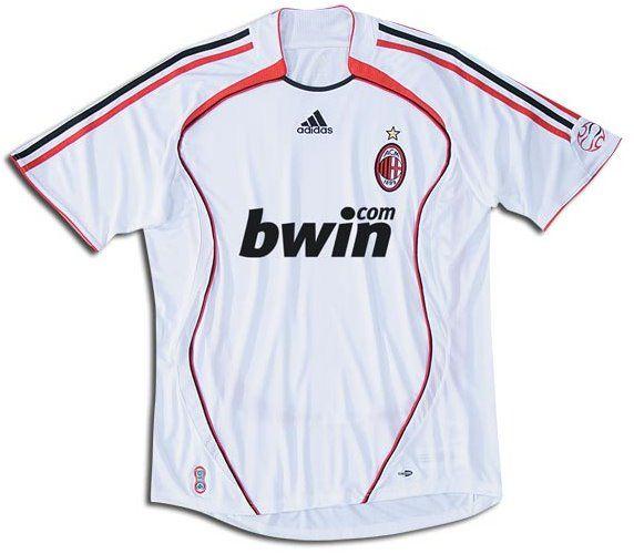 AC MILAN away jersey 2006-2007 | Jersey shirt, Jersey, Shirts