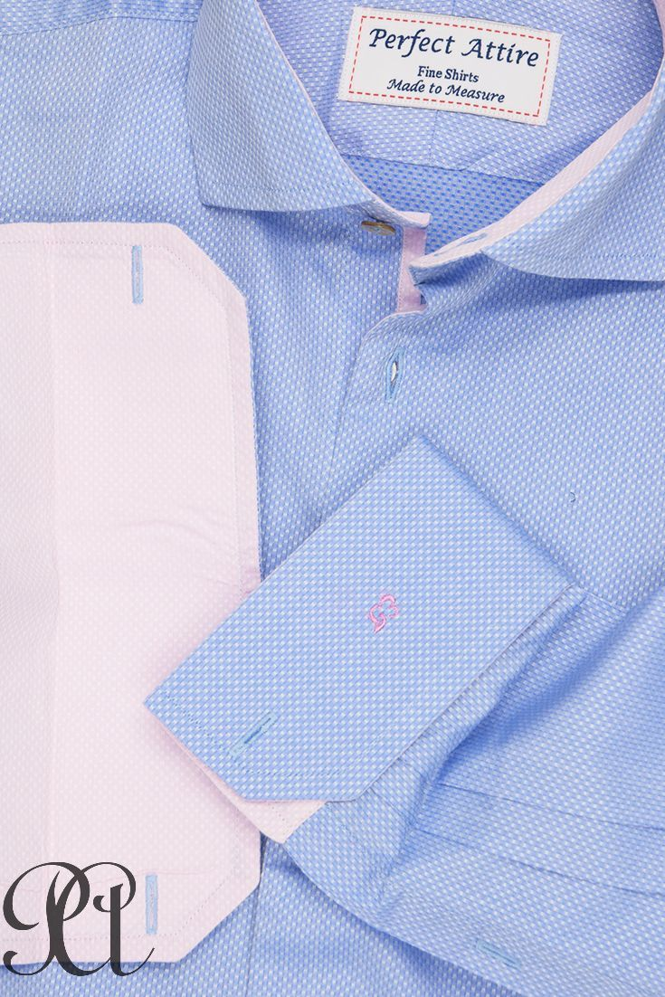 Pink dress shirt blue suit  After white it is light blue and light pink that are undisputed