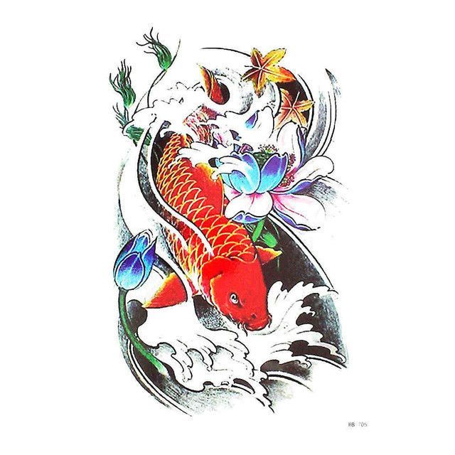 599982752 Flower Bird Decal 1pc Waterproof Tatoo Chinese Traditional Painting HB551  Oriole Temporary Tattoo Sticker for Women