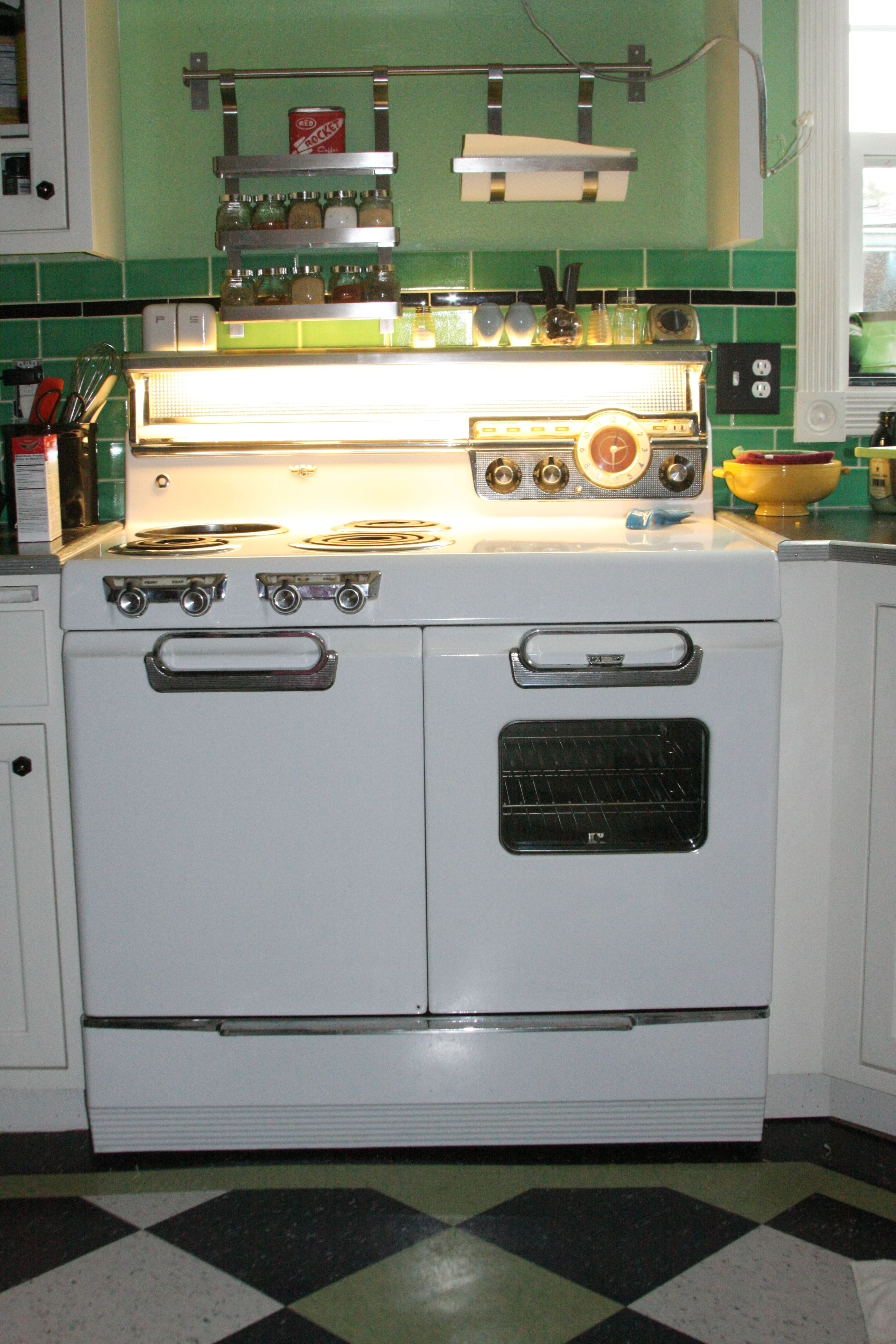 Of Vintage Stoves Refrigerators And Large