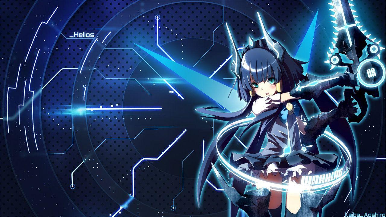 Anime Mecha Girl System Wallpaper By Kaibaaoshiro On Deviantart Anime Wallpaper Anime Background Images Wallpapers