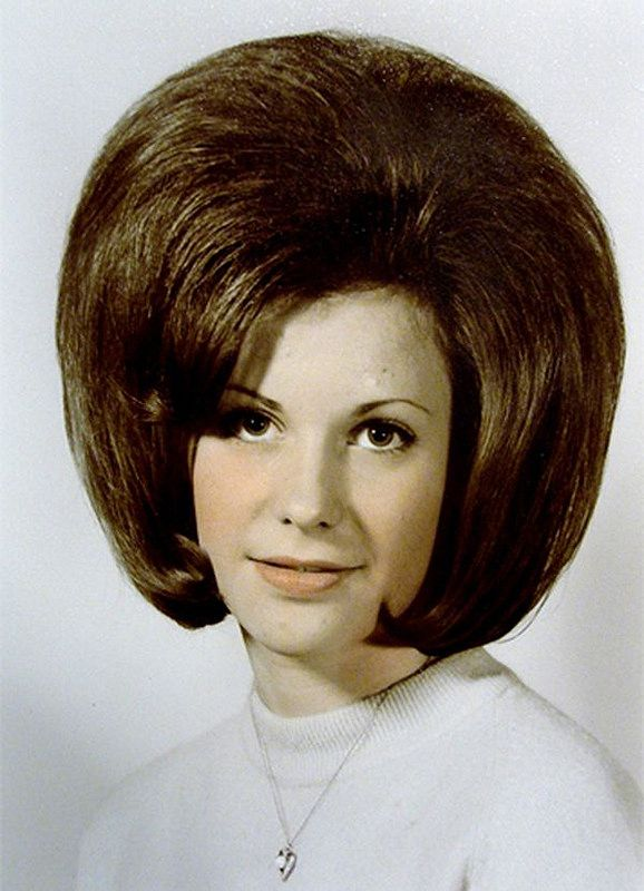 1960's Hairstyles Bubble Bouf  School Portraits