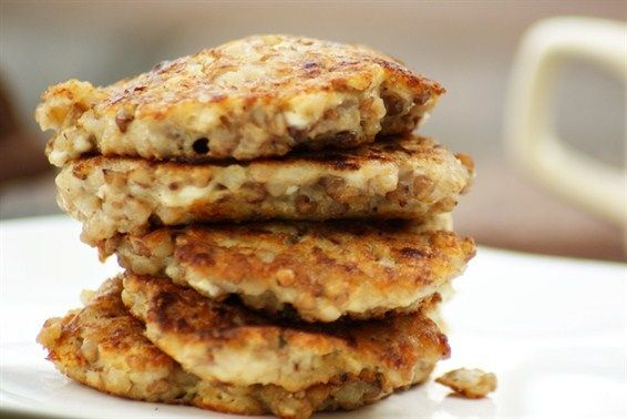 Amish Buckwheat Cottage Cheese Pancakes