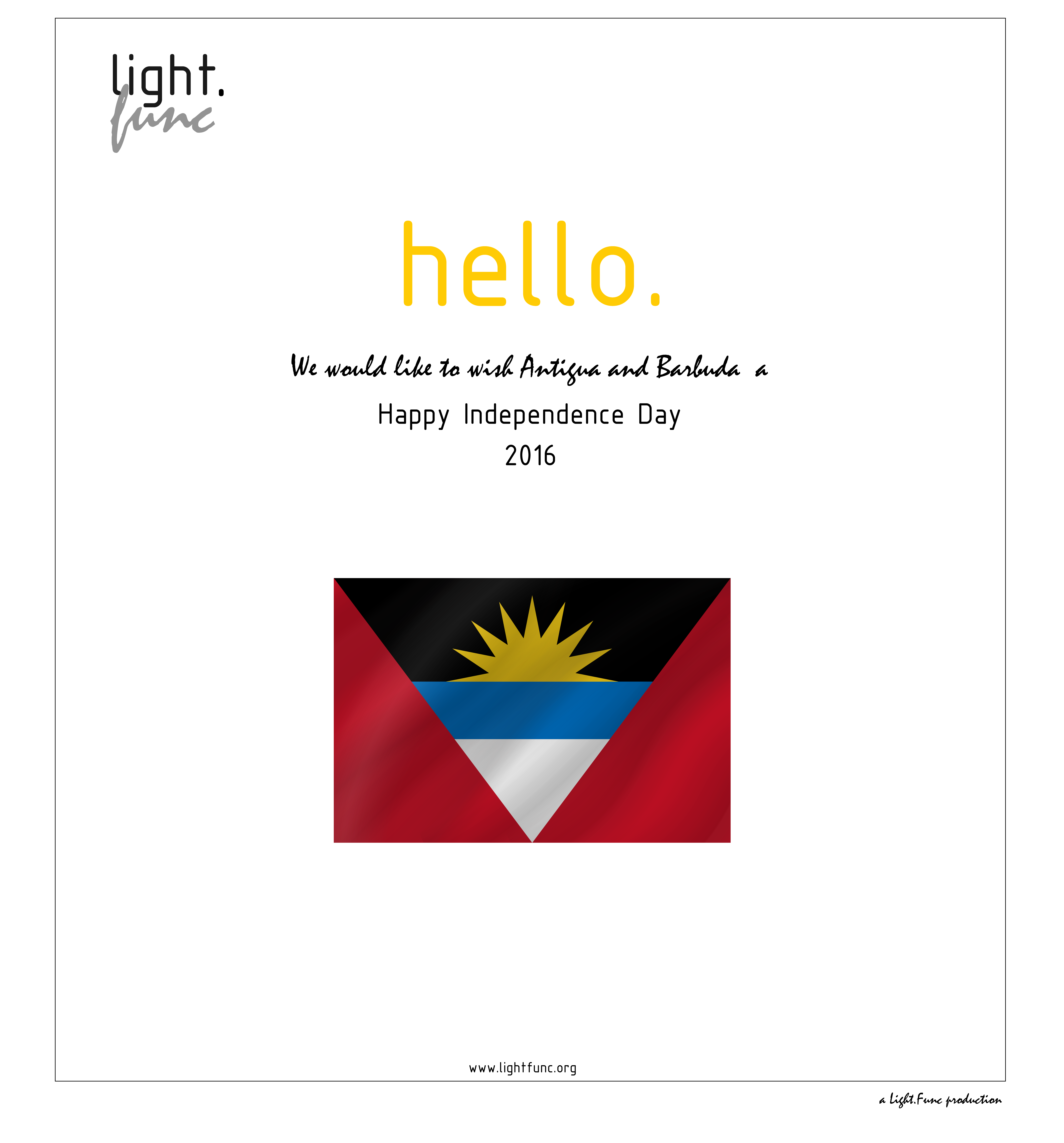 Happy Independence Day Antigua And Barbuda Lightfunc History Photography Nature Architecture Design Ar Happy Independence Day Independence Day Design