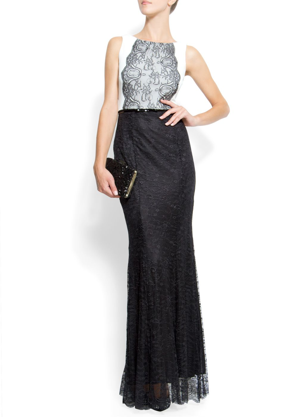 Lace gown		£114.90