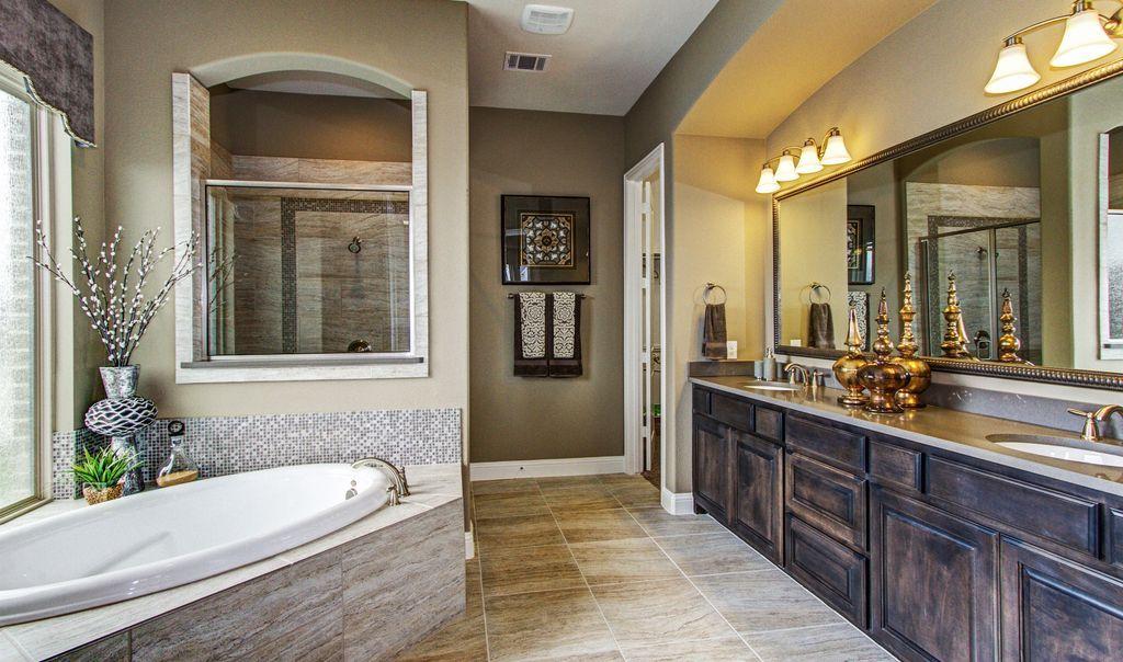 traditional master bathroom with custom mirrors accurian on custom bathroom vanity mirrors id=42245
