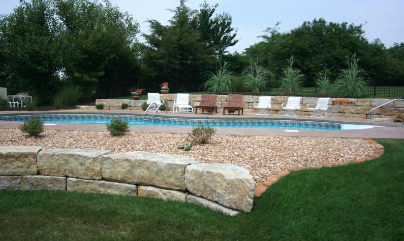 Vinyl Gallery Backyard Projects Backyard Pool Landscaping