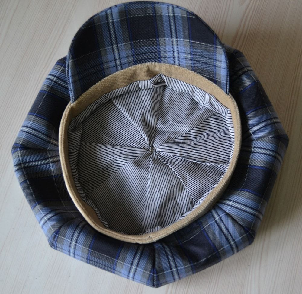 How To Make Newsboy Hat. So looks the newsboy cap inside. | Summer ...