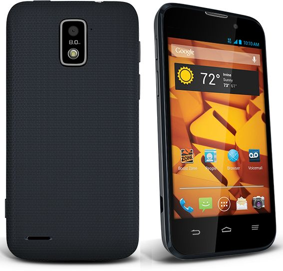 ZTE Warp 4G Available from Boost for 199.99 New gadgets