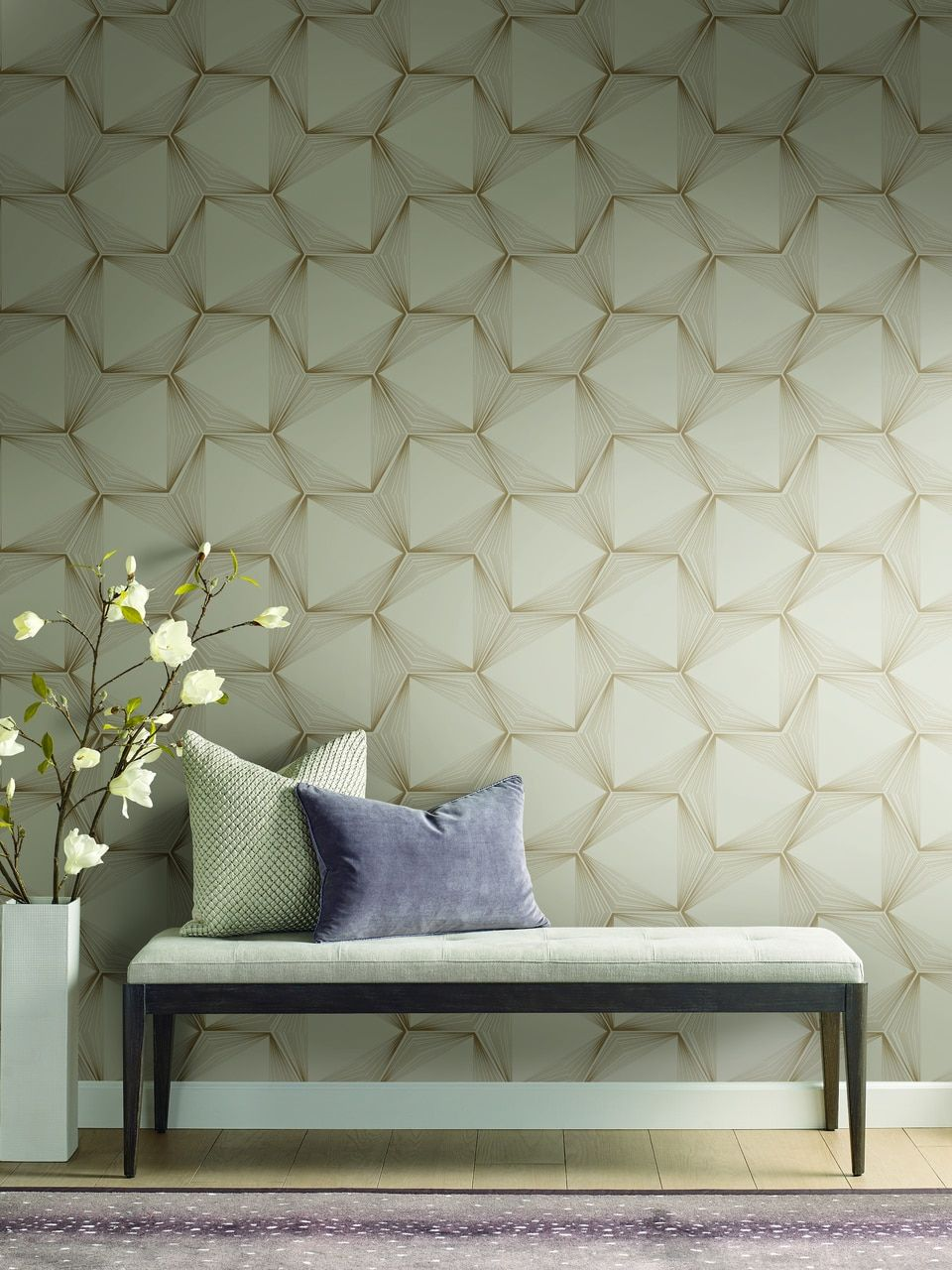 York Wallcoverings OL2719 Candice Olson Journey Gold
