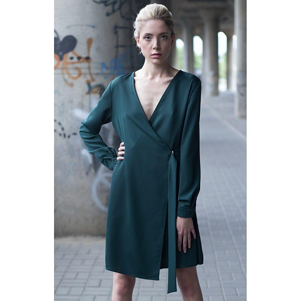 Dark green short dress  Products